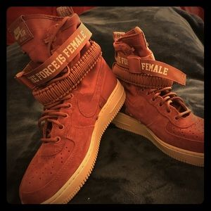 'The Force is Female' AF1 Nike's Sz. 8